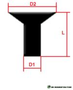 m8 titan schraube grade 5 din 7991 senkkopf innen 6 kant natur titanschrauben natur. Black Bedroom Furniture Sets. Home Design Ideas